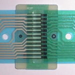 異方性導電による テールの延長接続